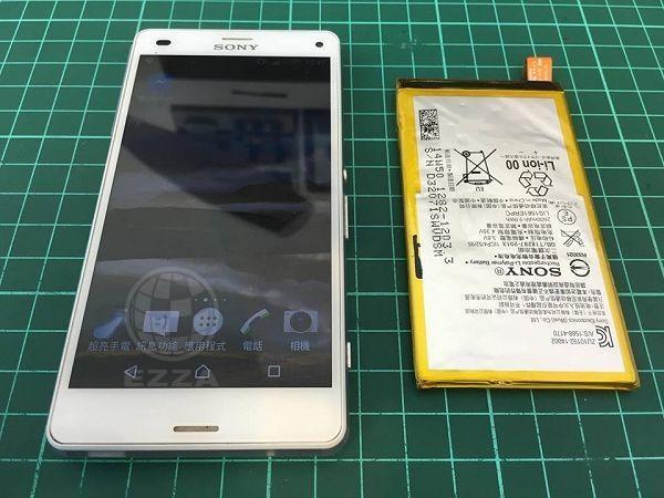 Sony Z3C為什麼要換電池