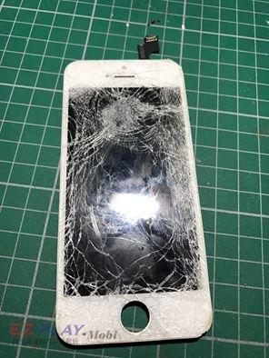 IPHONE 5S面板破裂