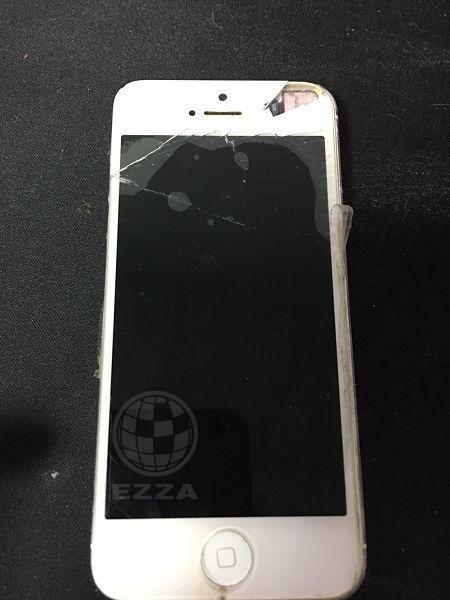 IPHONE5面板破裂