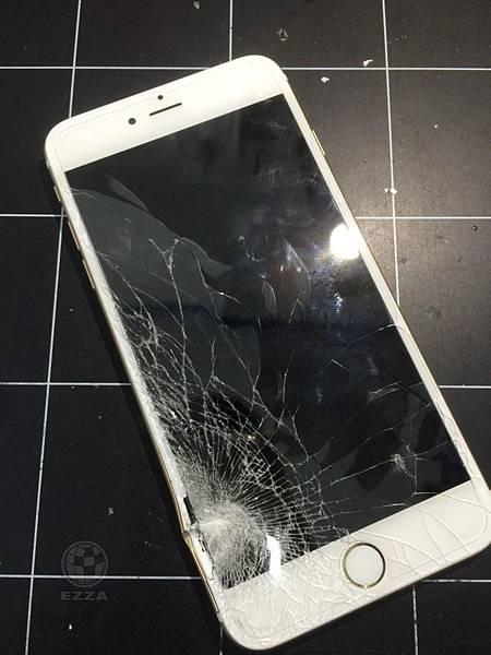 Iphone 6+嚴重撞擊