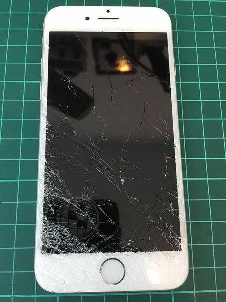 iphone6s 面板破裂5