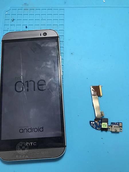 HTC M8充電不良