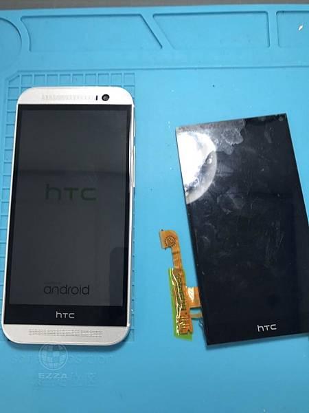 HTC M8觸控不良
