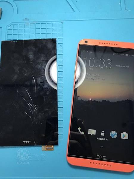 HTC 816觸控不良