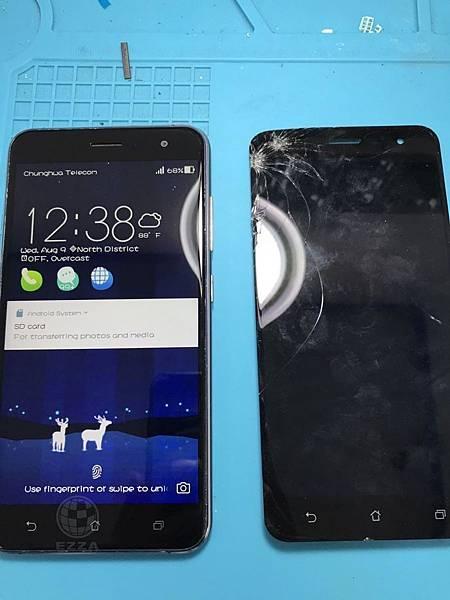 ZenFone3 5_5吋面板破了