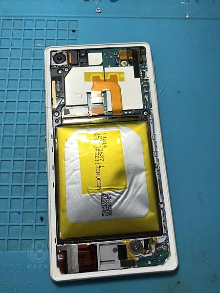 SONY Z2電池膨脹(2)