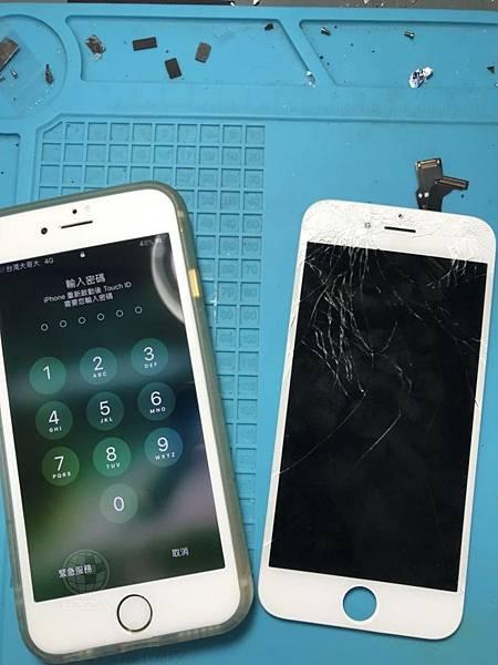 IPHONE6面板破碎