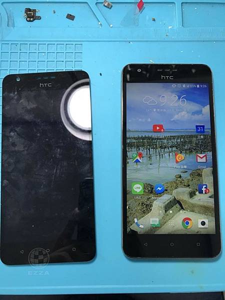 HTC D10U顯示異常