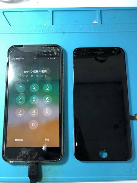 IPHONE7+觸控異常