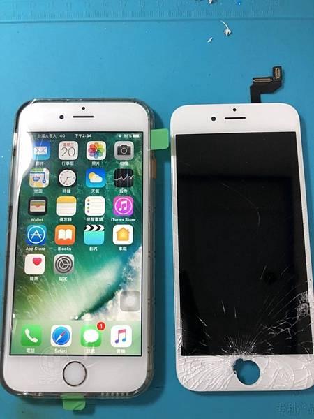 IPHONE 6S面板破碎(1)