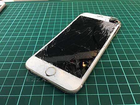 iphone6 面板破裂,背蓋變形