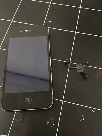 IPHONE 4 電源鍵故障按不下去