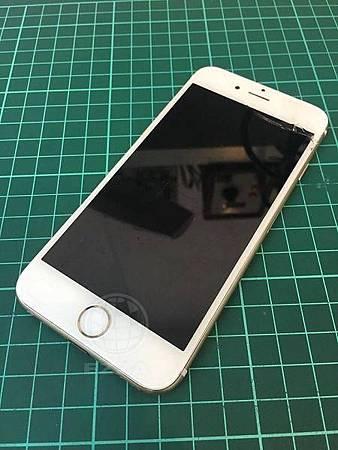 iphone6 面板破裂5