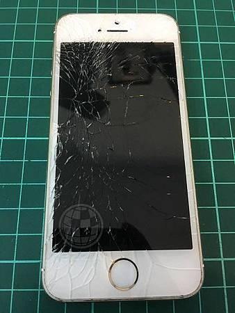 IPHONE5S 面板破裂2