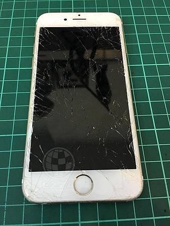 iphone6s 面板破裂2