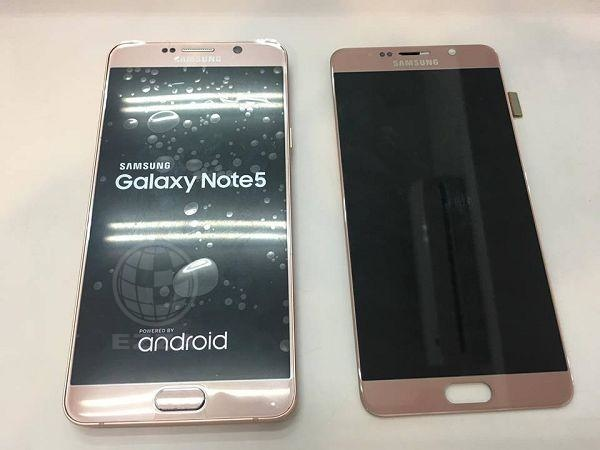 NOTE5換面板