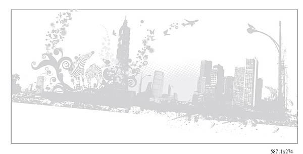 城市花紋3-4