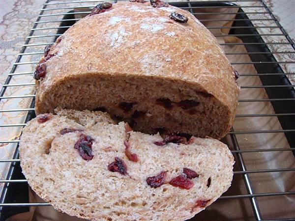 蔓越莓免揉麵包 003.jpg