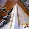 居家藝術漂亮鐵皮屋  松木飾板.jpg