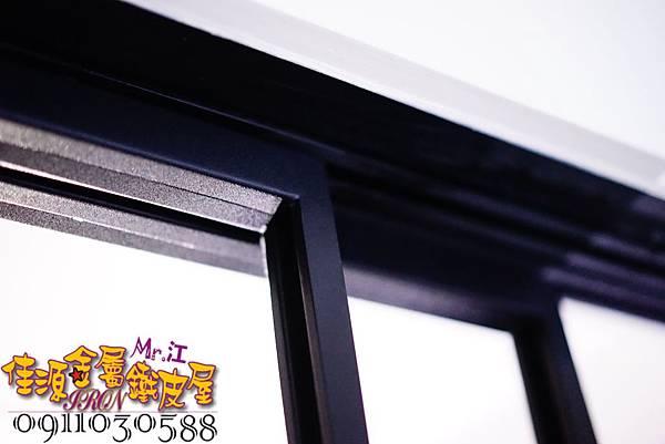 客廳與廚房的金屬玻璃隔間 (12).JPG