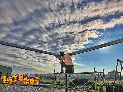 不鏽鋼雙層五溝浪板 佳源鐵皮屋 桃園 (6).jpg