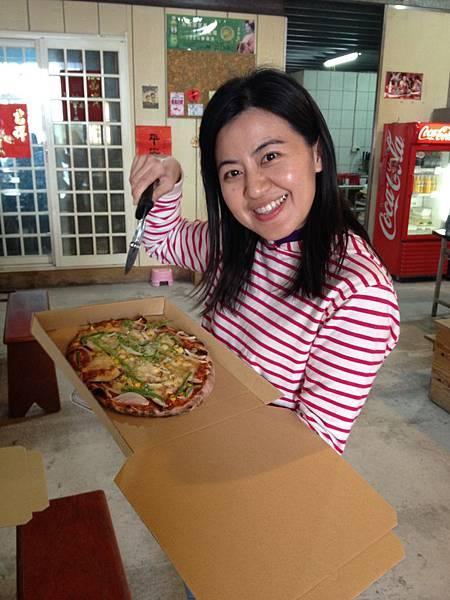 宜蘭~窯烤pizza