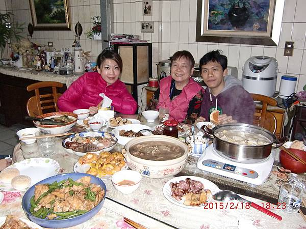 2015除夕年夜飯 001