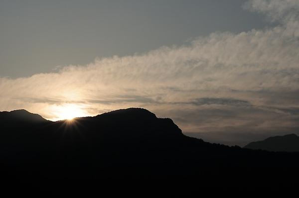 東眼山日出(2010/03/04 06:56:14)