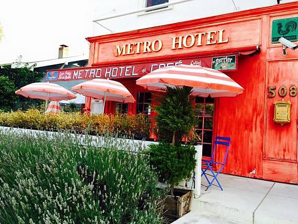Metro Hotel Front