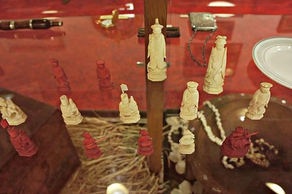 史蒂文生博物館_中國古董象棋1