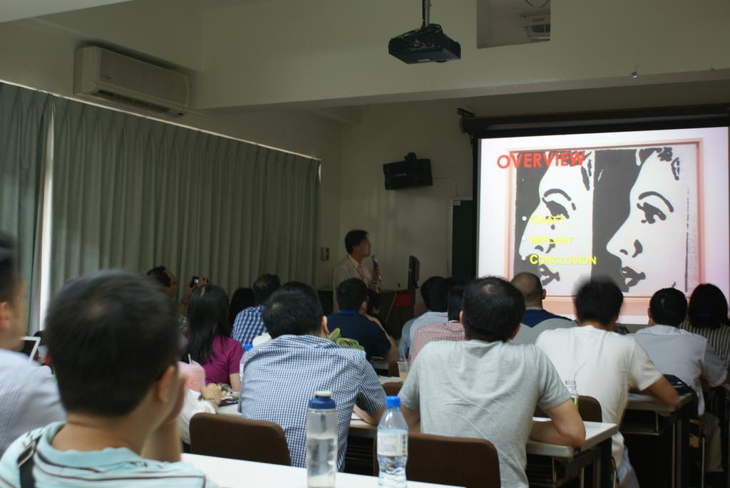 邱昱勳醫師應邀 2016 VGH Rhinoplasty Dissection Course 演講