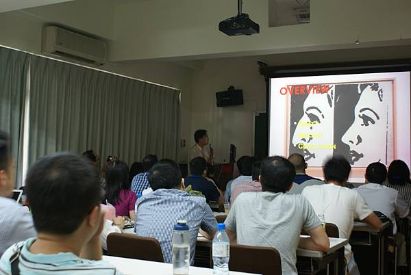 邱昱勳醫師應邀 2016 Rhinoplasty Dissection Course 演講