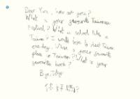 臉譜4月_親愛的世界_明信片(讀者版)正面