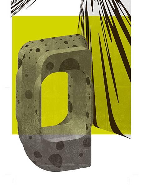 臉譜六月_Typography 03 _海報(反面)
