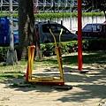 北投捷運站前的公園