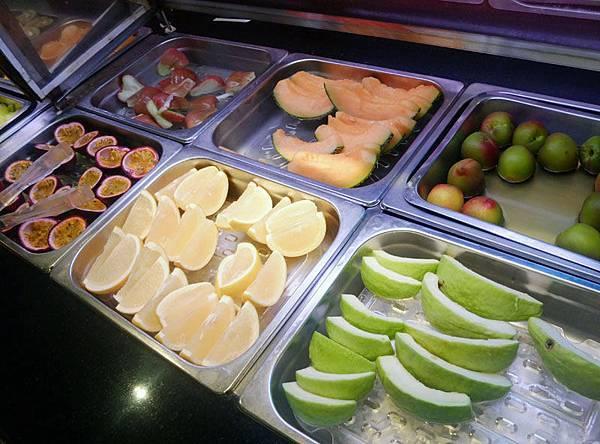 種類豐富的水果~