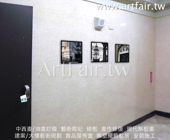 各層樓出電梯口小品設計規劃裱框