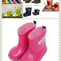 日本Stample兒童雨鞋