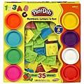 ♥【培樂多Play-Doh】創意DIY黏土∕字母數字遊戲組(附8色黏土)