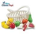 ♥【荷蘭New Classic Toys】水果籃切切樂