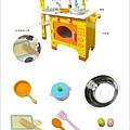 ♥【kikimmy】經典動物木製廚房玩具