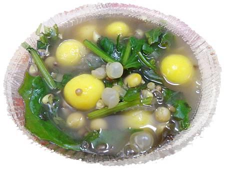 rice ball soup