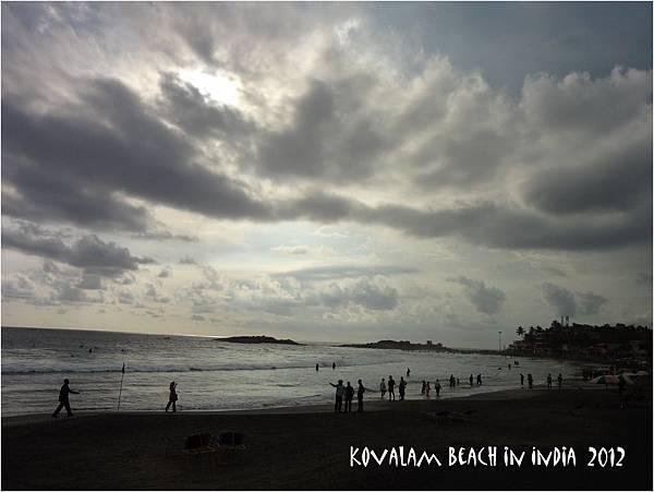 kovalam beach 2012