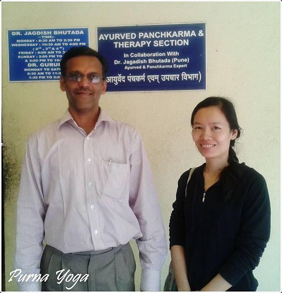 阿育吠陀醫師Dr. Jagdish