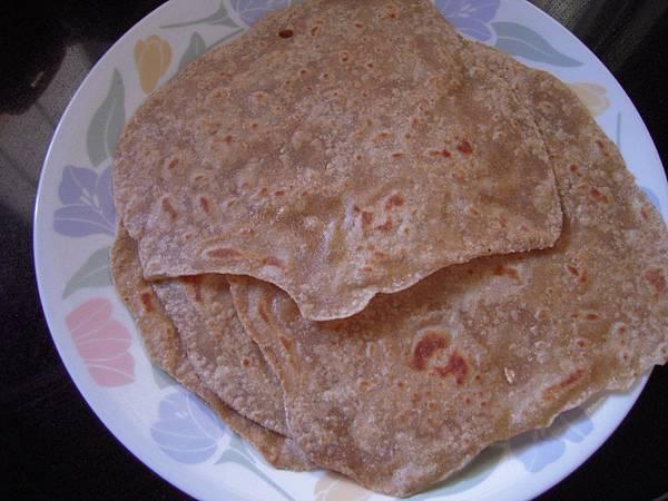 印度餅--chapathi