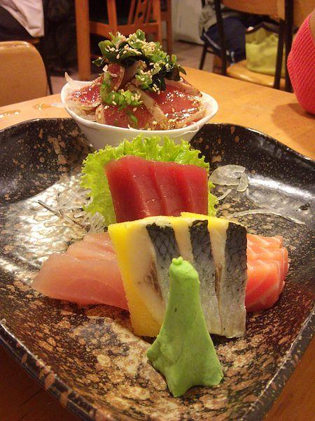 福井。綜合生魚片
