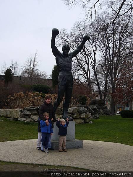 Philadelphia 費城 ~ Rocky 雕像