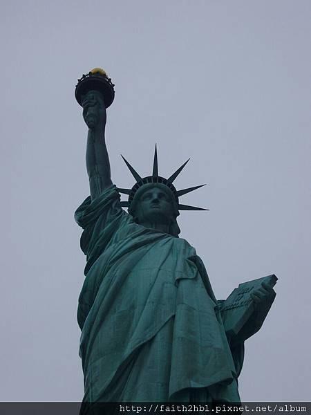NYC 自由女神像 近拍
