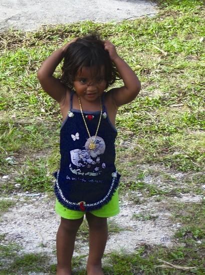 馬紹爾-小女孩