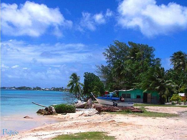 馬紹爾-海邊小屋